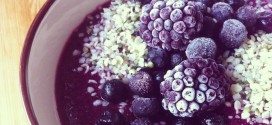 superfood nyttig frukost healthy superfood breakfast blueberries cardamon