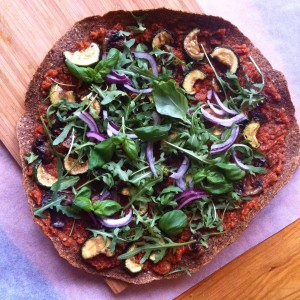 rawfood pizza nutfree anticandida foods