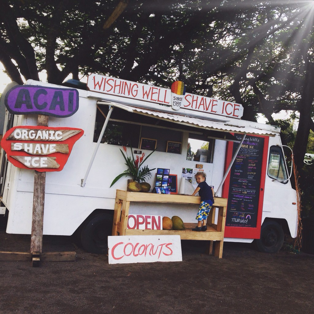 shave ice hanalei