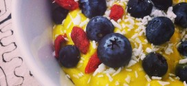 rawfood frukost recept mango bowl