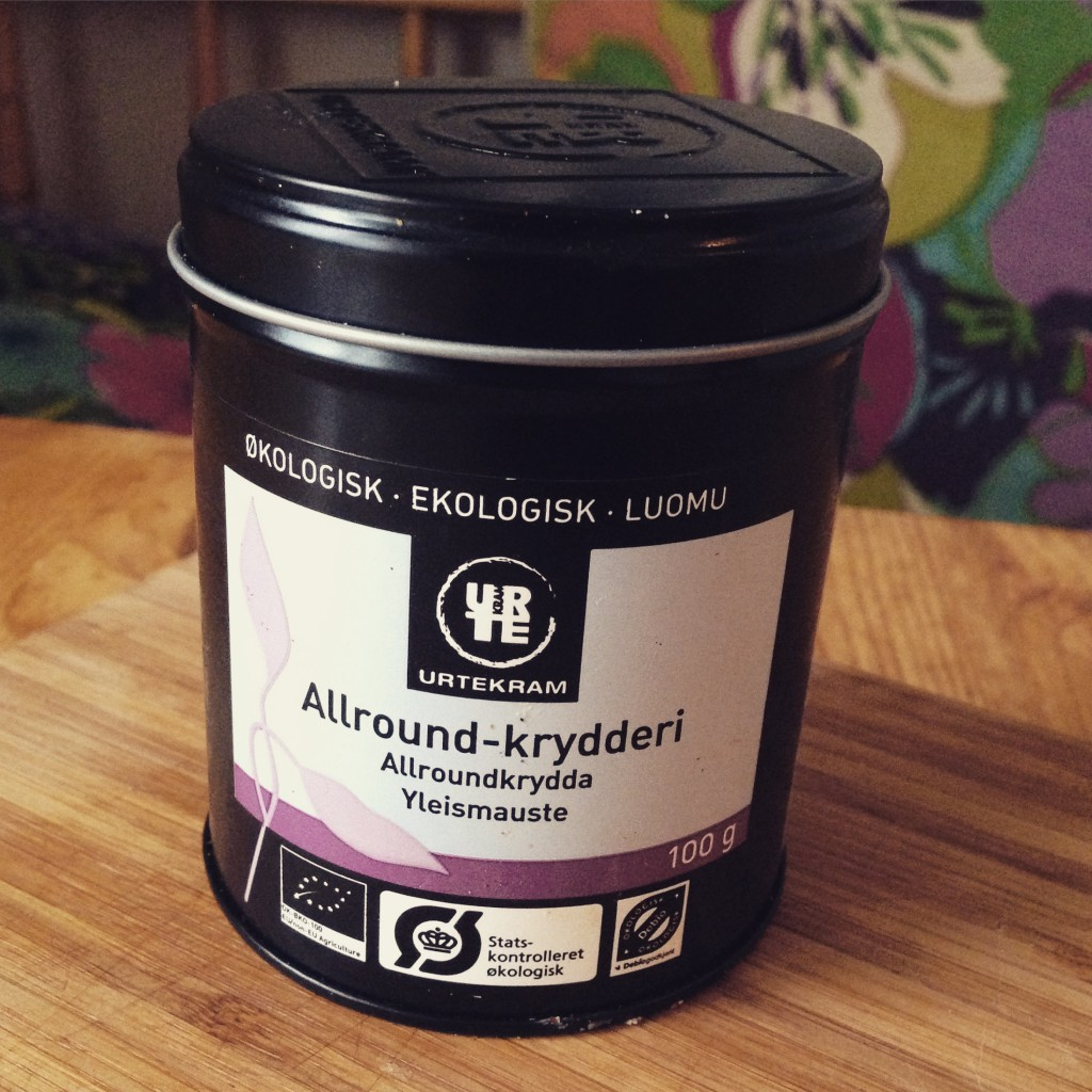 all-around krydda ekologisk urtekram